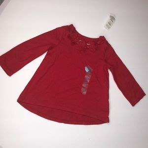 Girls The children place blouse size 12 months